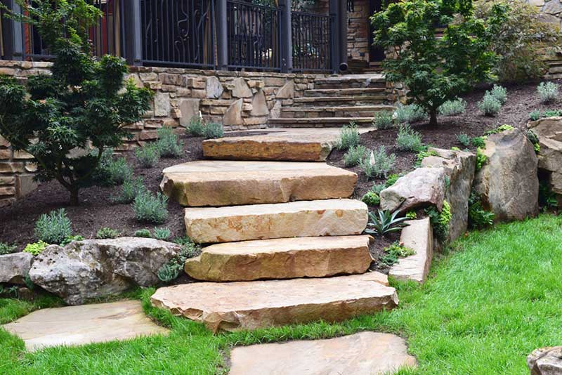 Knoxville landscaping and hardscaping company.