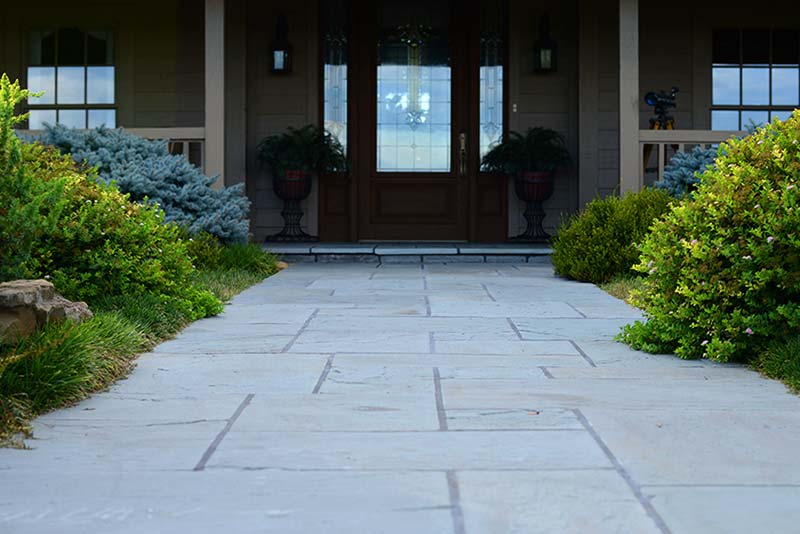 Stone and paver patio hardscapes in Knoxville.