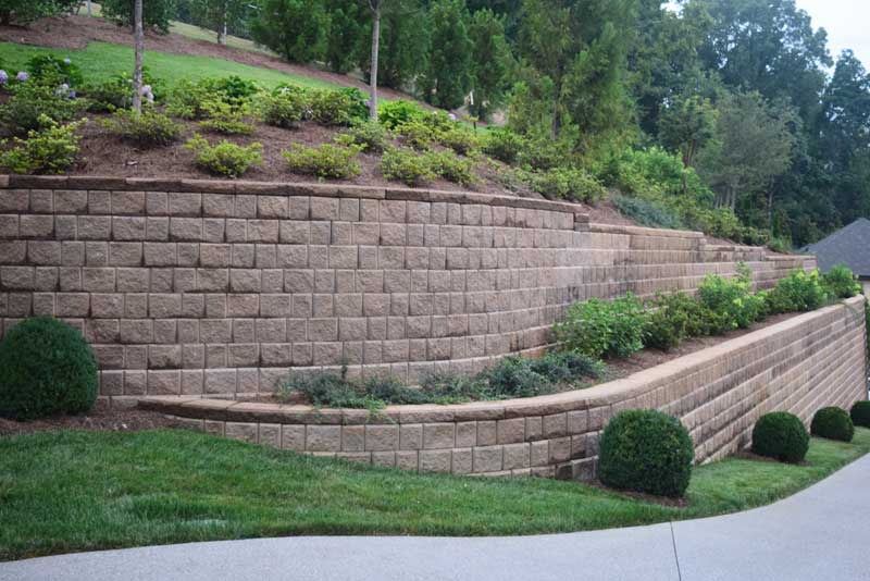 Our landscape architects can design a hardscape plan that will enhance your property.