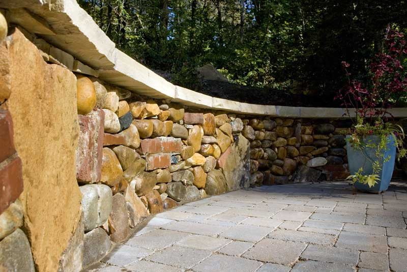 Hardscape construction and landscape masonry services.