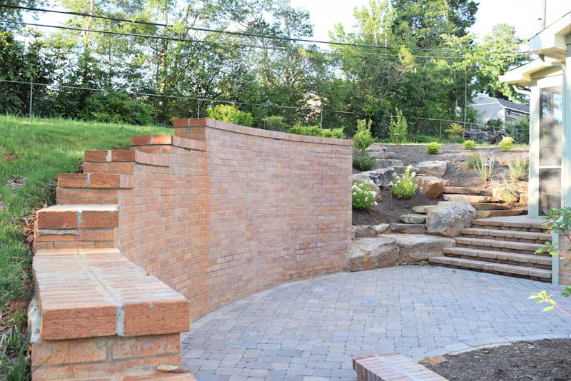 Permeable pavers and other eco-friendly hardscaping solutions.