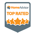 Top Rated Landscaper HomeAdvisor Award