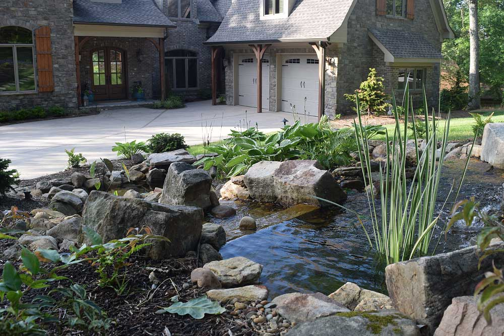 Landscaper Portfolio Project, Knoxville, Lakeland