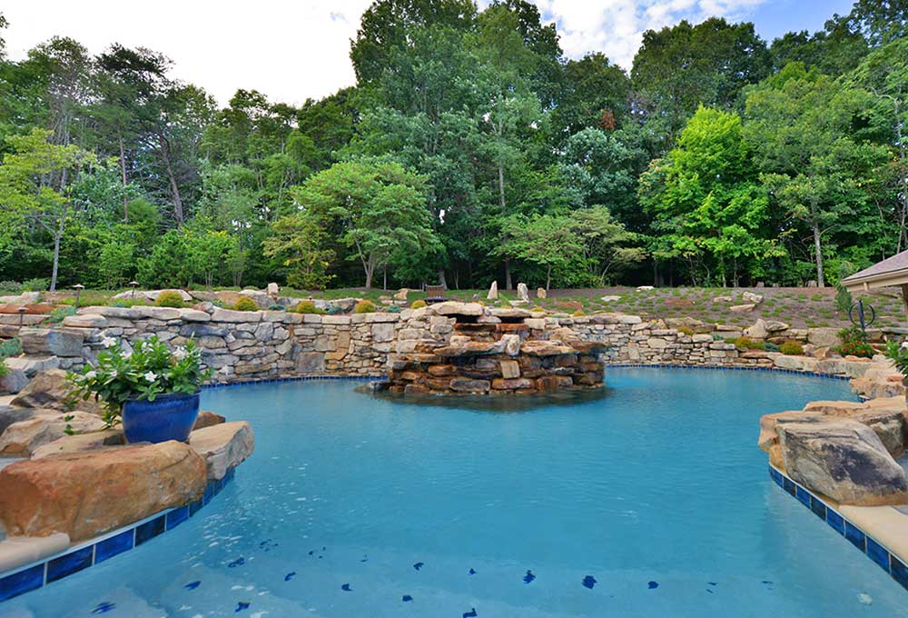 Pool construction and renovation in Knoxville.